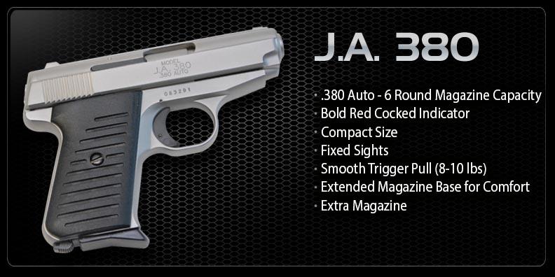 J.A. .380 Semi Auto